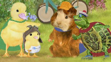 Wonder Pets Kalamazoo Save The Cow Who Jumped Over Moon All About