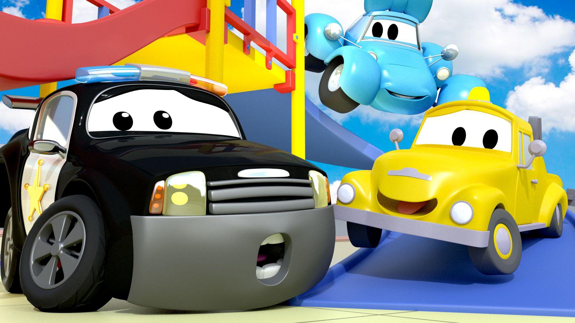 Watch Car Patrol - S1:E3 Fire Alarm / Sunday sundae / Tao